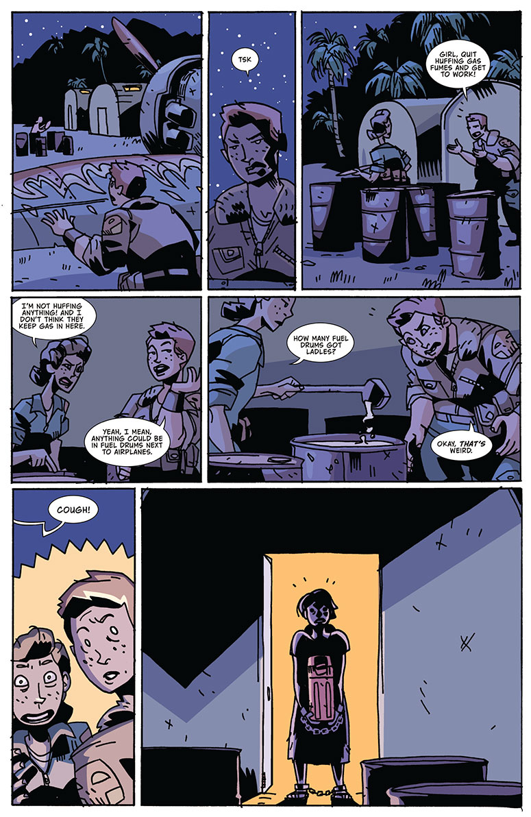 Atomic Robo - Real Science Adventures - v02ch2 page 5